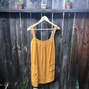 Heritage 1981 Yellow Corduroy Dress - S